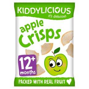 Kiddylicious apple crisps