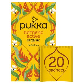 Pukka Caffeine-Free Turmeric Active 20Herbal Tea Sachets