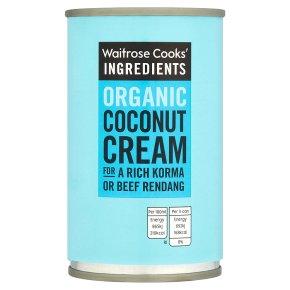Waitrose Cooks' Ingredients organic coconut cream