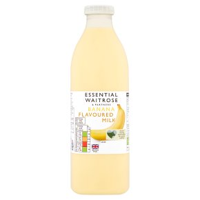 essential Waitrose banana flavoured milk