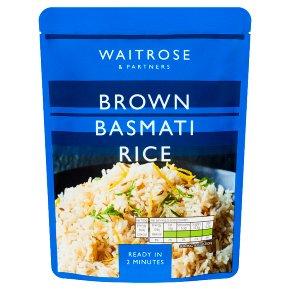 Waitrose Brown Basmati Rice