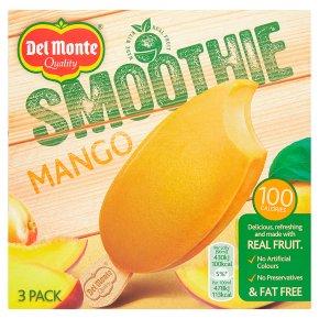 Del Monte mango smoothie lollies