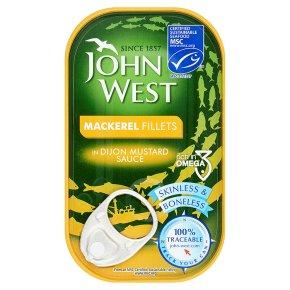 John West Mackerel Fillets Dijon Sauce