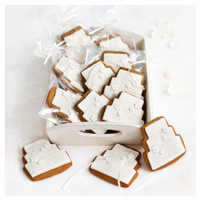 12 Fiona Cairns Blossom Gingerbread Biscuits – Ivory