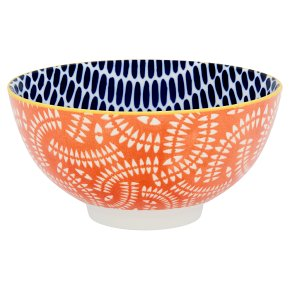 Fusion Small Blue Spot Bowl