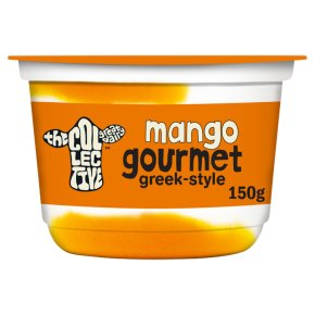 The Collective Mango Gourmet Live Yoghurt