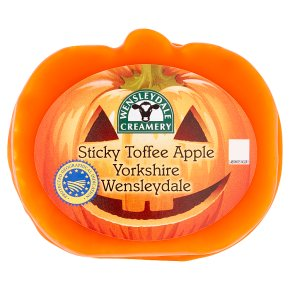 Sticky Toffee Apple Wensleydale
