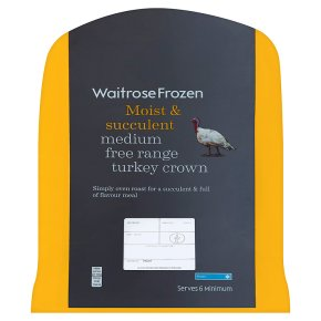 Waitrose Free Range Turkey Crown