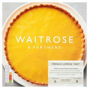 Waitrose Frozen tarte au citron