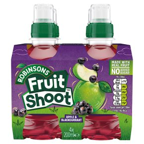 Robinsons Fruit Shoot low sugar blackcurrant & apple