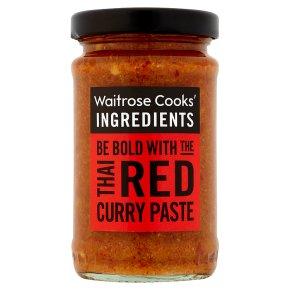 Waitrose Cooks' Ingredients red Thai paste