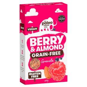 The Paleo Foods Co Berry & Almond Grain-free Granola