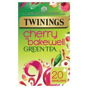 Twinings cherry bakewell green tea 20 teabags