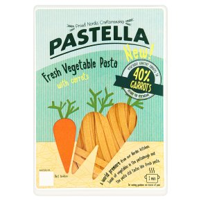 Pastella Fresh Vegetable Pasta with Carrots