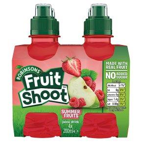 Robinsons Fruit Shoot low sugar summer fruits