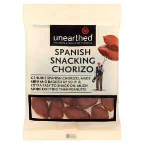 Unearthed Spanish snacking chorizo