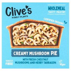 Clive's Creamy Mushroom Pie