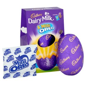 Cadbury Dairy Milk & Oreo Minis Medium Chocolate Easter Egg