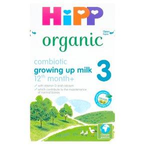Hipp Organic growing up milk (4 - from 12 months onwards)