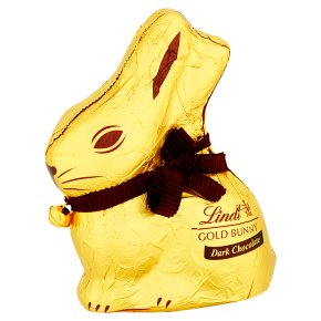 Lindt gold dark chocolate bunny