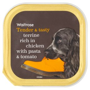Waitrose Terrine Chicken with Pasta & Tomato