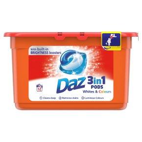 Daz Go Pods Whites & Colours