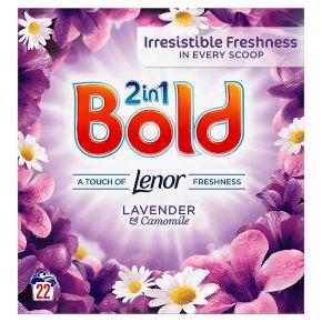Bold 2in1 Lavender & Camomile Washing Powder 22 washes