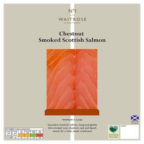 Waitrose 1 Chestnut Smoked Scottish Salmon