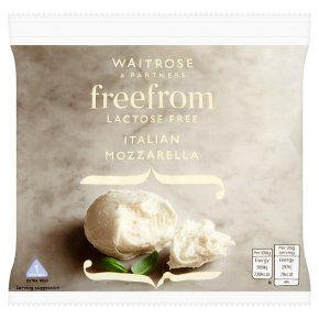Waitrose Lactose Free Italian Mozzarella