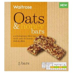 Waitrose Oats & Honey Cereal Bars