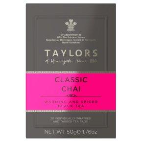 Taylors Classic Chai Tea 20s