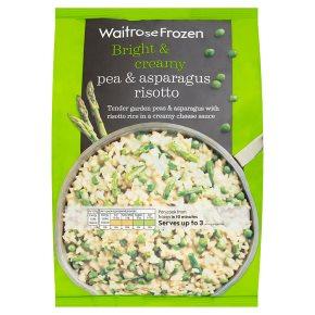 Waitrose Frozen Pea & Asparagus Risotto