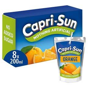 Capri-Sun Orange No Added Sugar