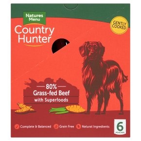 Country Hunter Beef with Fruit & Veg