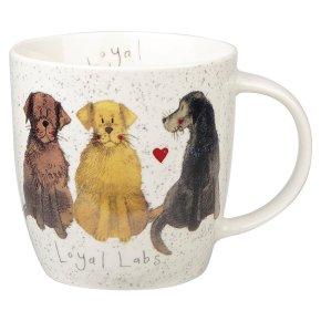 Alex Clark loyal labs mug