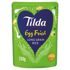 Tilda egg fried steamed basmati rice