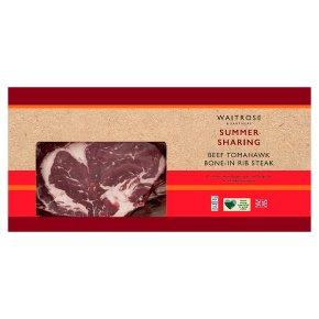 Waitrose British Beef Tomahawk
