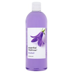 essential Waitrose Bluebell Bubble Bath