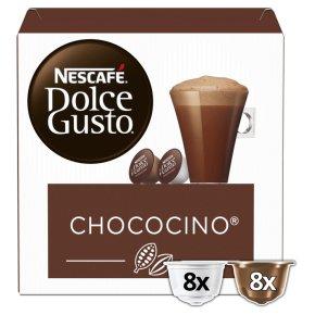 Nescafé Dolce Gusto chococino coffee pods 8 drinks