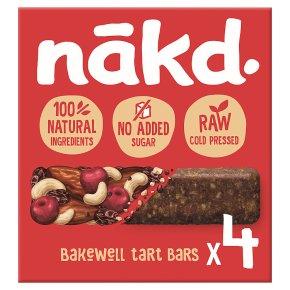 Nakd Bakewell Tart Wholefood Bars