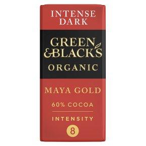 Green & Black's organic Maya Gold dark chocolate bar