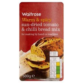 Waitrose sun dried tomato & chilli bread mix