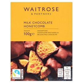 Waitrose Milk Chocolate Honeycomb