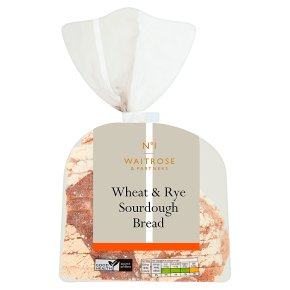 Waitrose 1 wheat'n'rye sourdough sliced