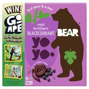 Bear pure fruit yoyos blackcurrant