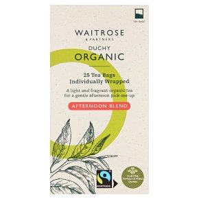 Waitrose Duchy afternoon blend tea 25s