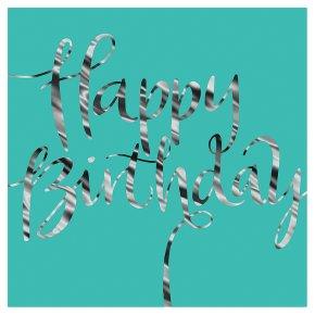 Pen & Ink Happy Birthday Card