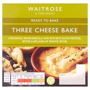 Waitrose Three Cheese Bake