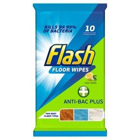 Flash Floor Wipes Anti-Bac