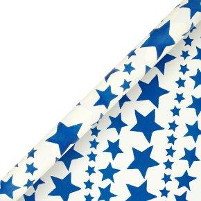 Emma Bridgwater navy star giftwrap